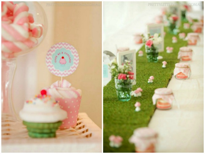 Cupcake Table Runner