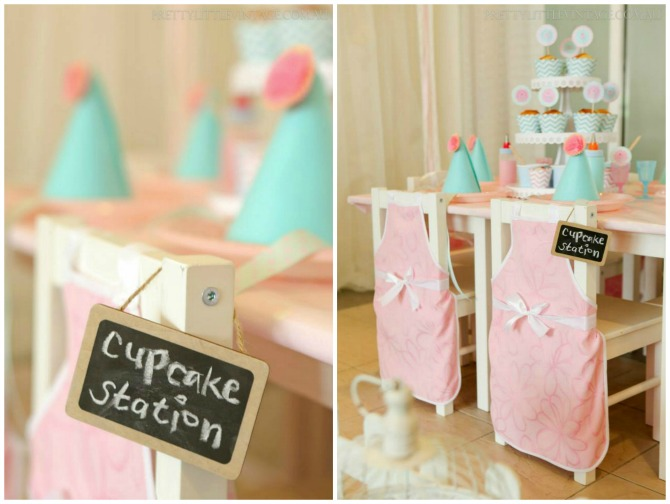 Cupcake Station Chairs