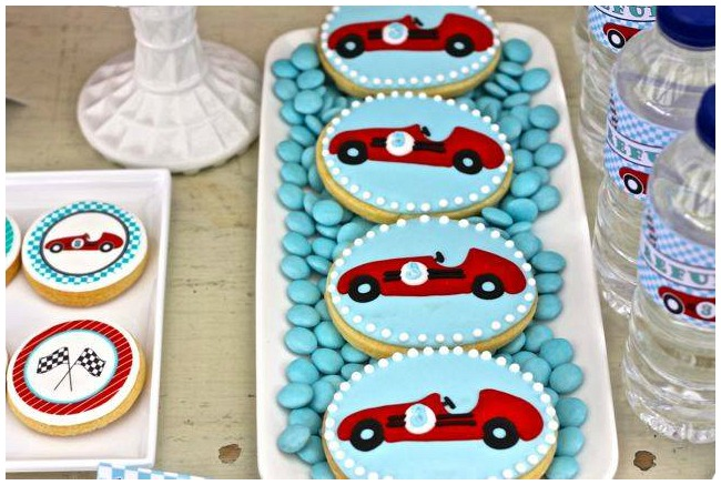 Car Iced Biscuits