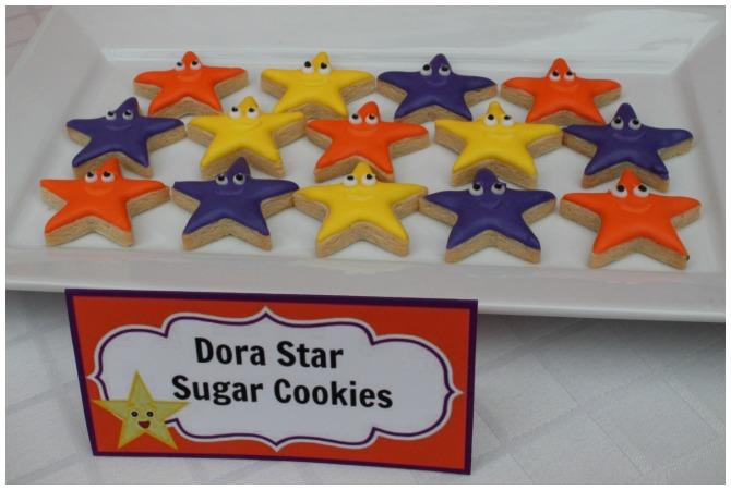 Dora Star Cookies