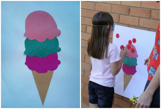 Pin the Ice Cream