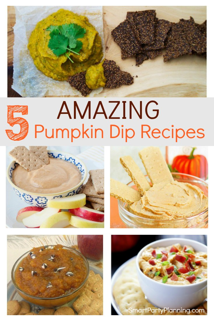 Learn how to make some awesome pumpkin dip recipes that are perfect for entertaining. Recipes include those that are healthy, with cream cheese and even spicy. These are the best easy recipes that are perfect for Fall, Thanksgiving or Halloween. #Pumpkindip #Recipes #Savory #Healthy #Spicy #Easy Thanksgiving
