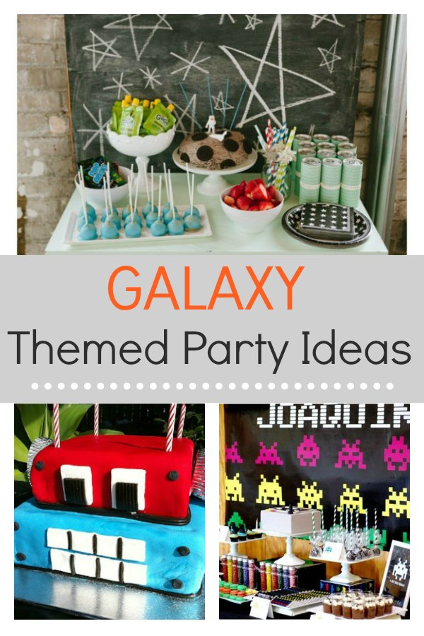 Five galaxy themed party ideas that the kids will absolutely love for their birthday. These parties will provide inspiration for DIY decoration, food, favors and more.  These ideas will enable you to create an amazing outer space party. #Outerspace #Galaxythemedparty #Space
