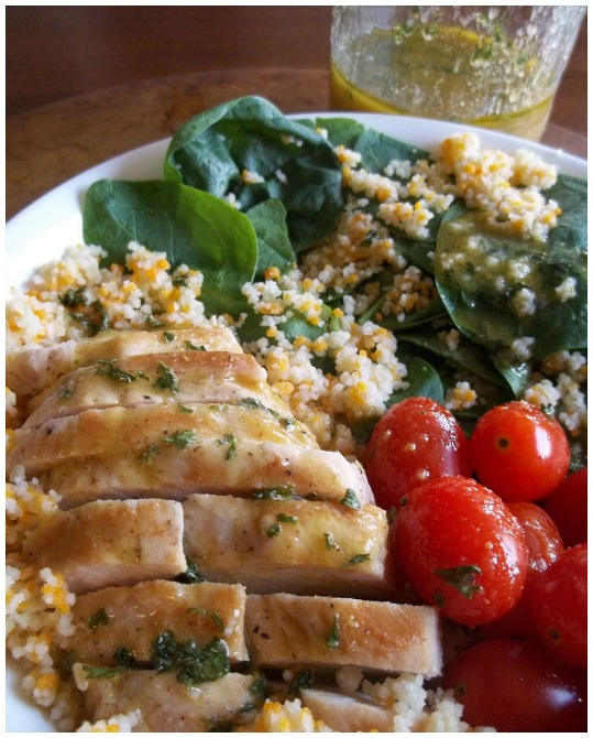 Grilled Chicken and Couscous Salad