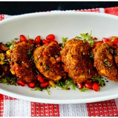 Delicious Methi Gota Corn Fritters