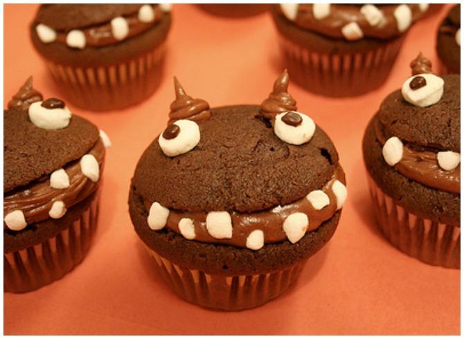 Monster Cupcake