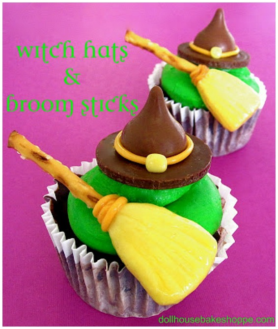 Witch Hat Cupcake