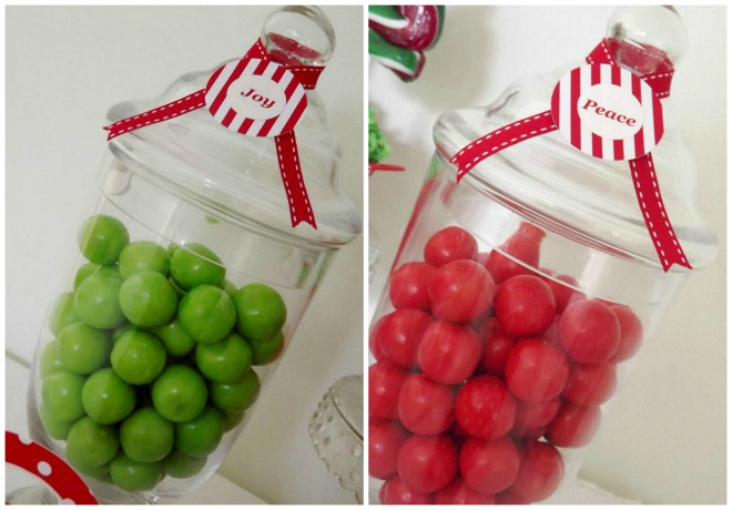 Christmas Lolly Jars
