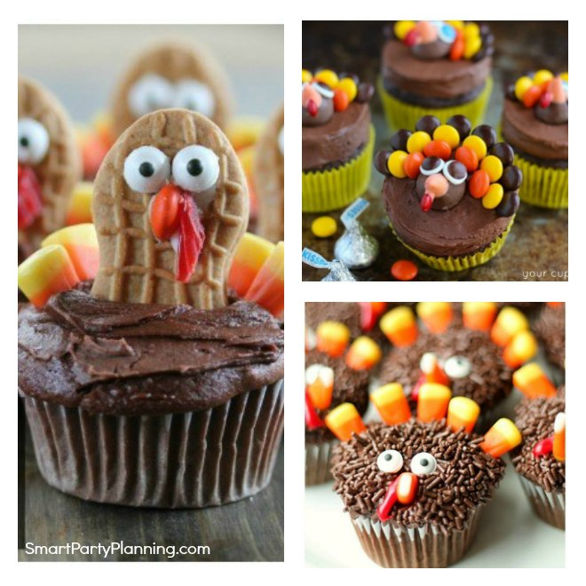 How to make turkey cupcakes