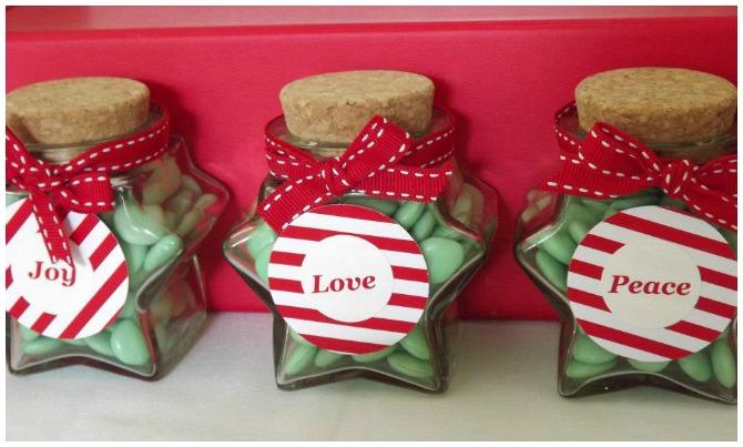 Love Joy and Peace Jars