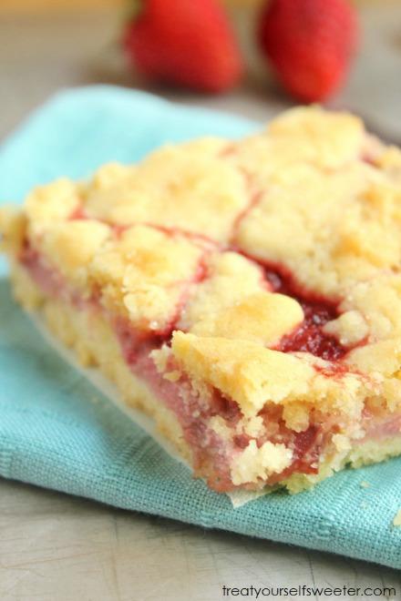 Rhubarb and Strawberry Shortcake Recipe