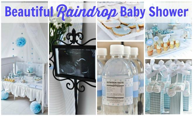Raindrop Baby Shower