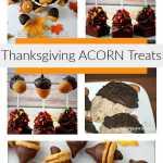 Thanksgiving Acorn Treats