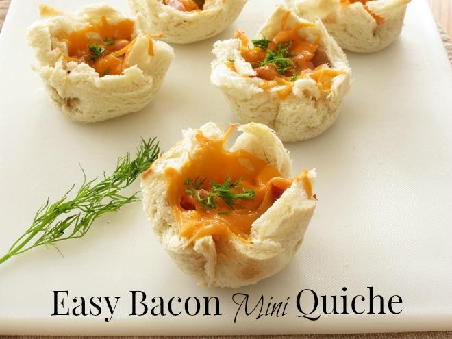 Bacon Mini Quiche