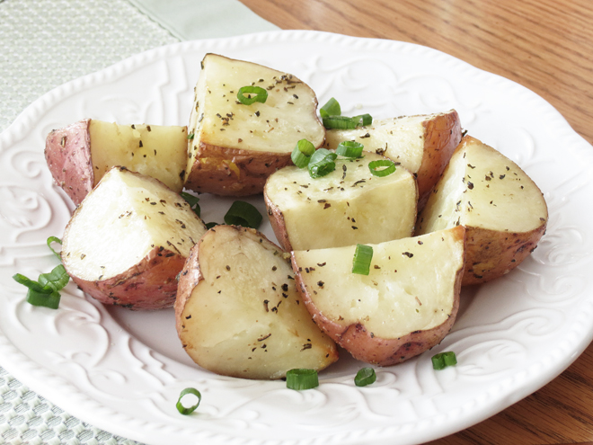 Basil Roasted Red Potatoes  I Smart Party Planning