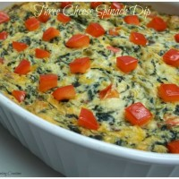 Three Cheese Spinach Dip