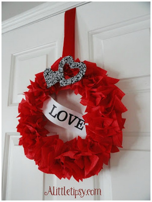 6 Valentineu0027s Wreath Ideas That All Have The Elements Of Romance, And They  All Have