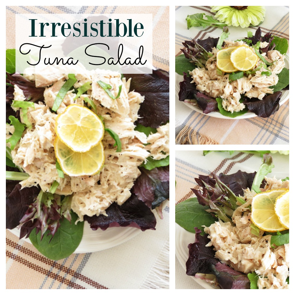 It's always good to have some delicious salad recipes up your sleeve and you won't be disappointed with this tuna salad.  It's light and refreshing and perfect for summer.  The perfect way to kick off your healthy trend.