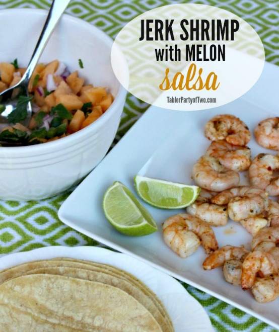 Jerk Shrimp Salsa