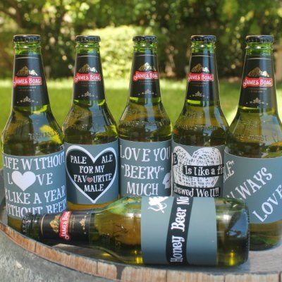 Valentine Printable Beer Labels Your Guy Will Totally Love