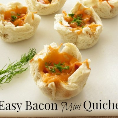 The Easiest Bacon Mini Quiche Kids Will Love