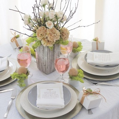 How To Make An Elegant Easter Table That Will Impress