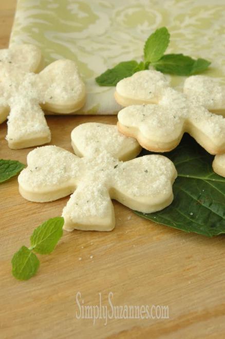 Minted Sugar Cookies