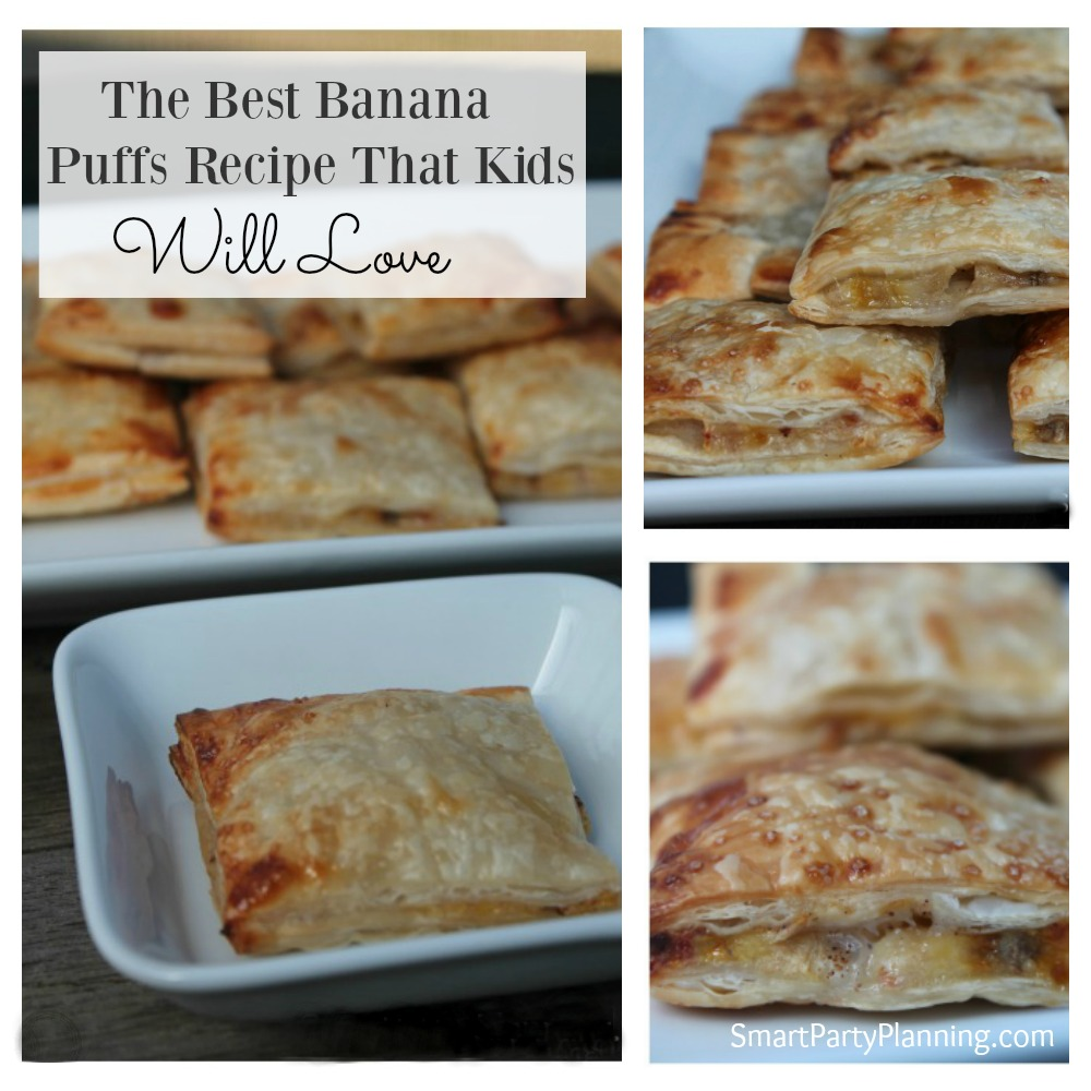 Banana Puffs Recipe