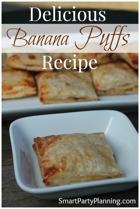 Delicious Banana Puffs Recipe