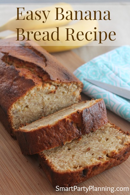 The Most Amazing Easy Moist Banana Bread Recipe