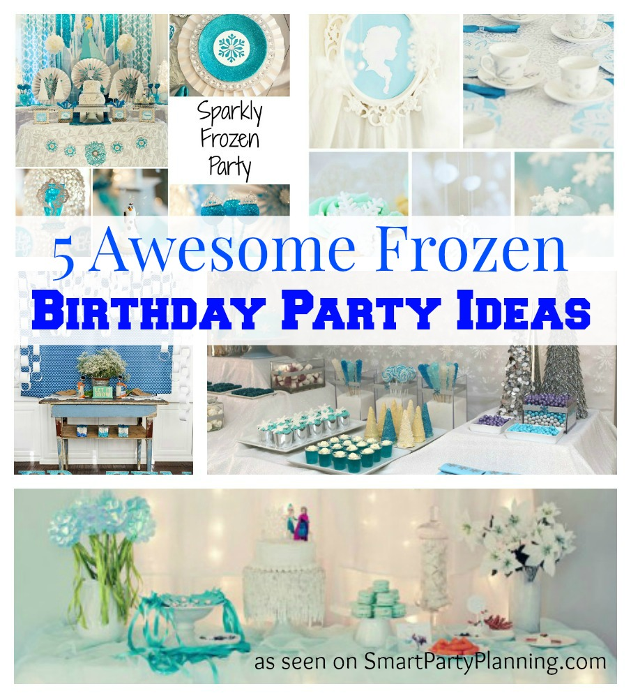 Disney Frozen crazy? This collection of Frozen birthday party ideas will be loved by all. With high tea, glitz, Olaf fever, Frozen cake and Frozen party favor ideas, there is something for everyone.
