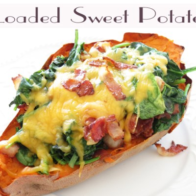 Sensational Loaded Sweet Potato Recipe