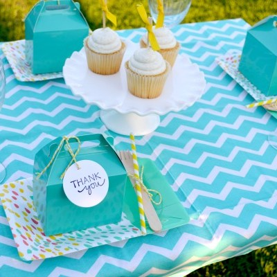 Relaxing Ladies Lunch Tablescape