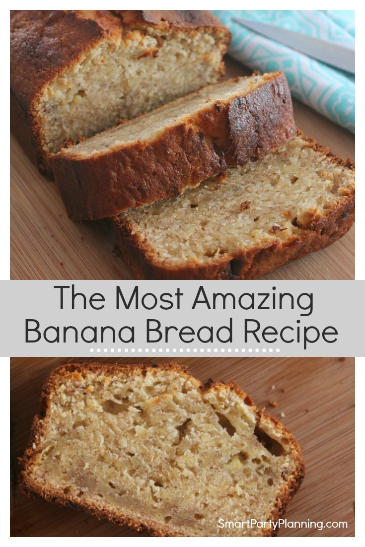 The most amazing easy banana bread recipe