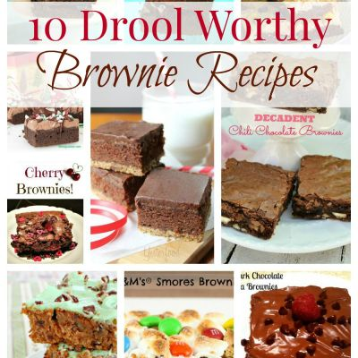 10 Drool Worthy Brownie Recipes