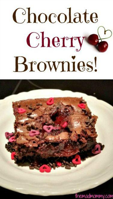 Chocolate-Cherry-Brownies