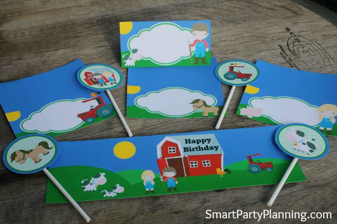 Printable Barnyard Party Collection