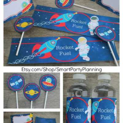 The Best Space Printables For An Out Of This World Party