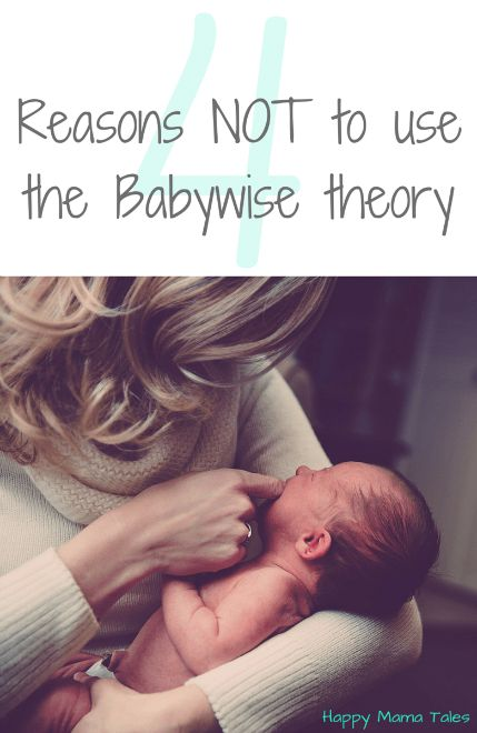 4 Reasons Not to use Babywise