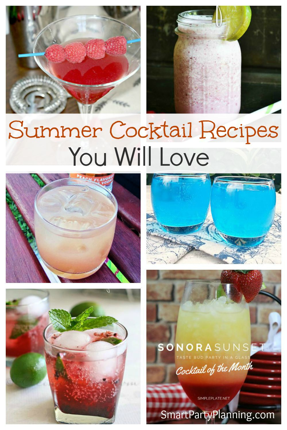 6 Summer Cocktails