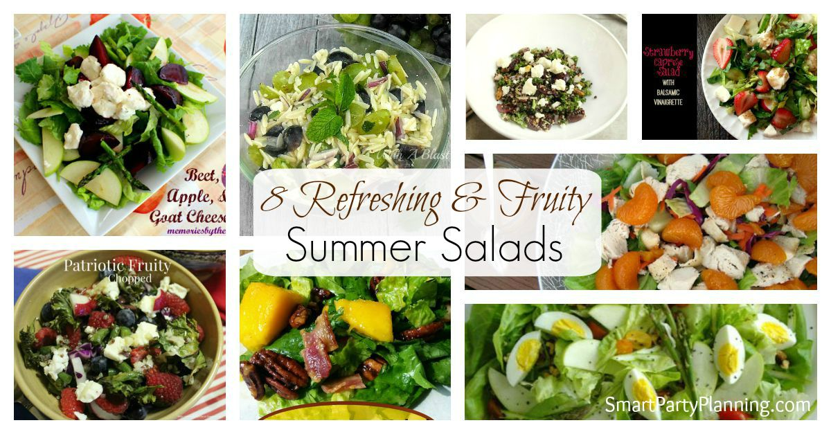 8 Fruity Summer Salads