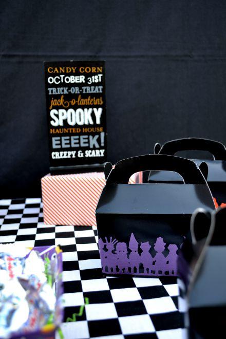 Halloween Favor Box's
