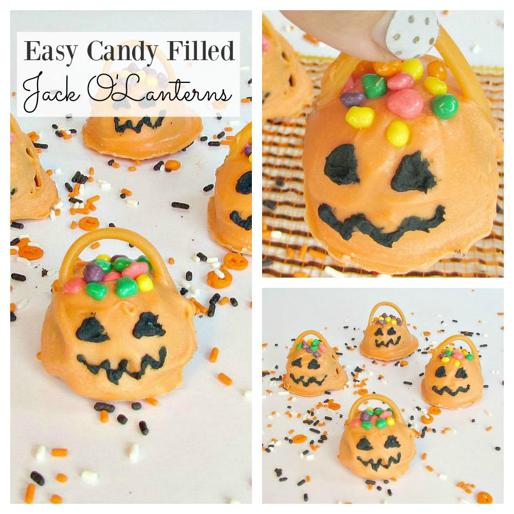 Candy Jack O' Laneterns