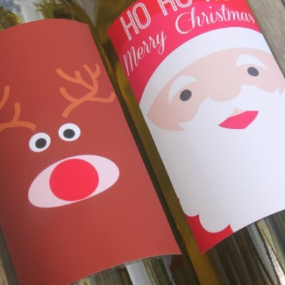 The Best Christmas Wine Labels for Spreading Festive Cheer