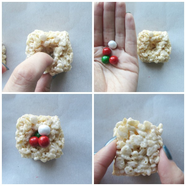 How to build present rice krispies