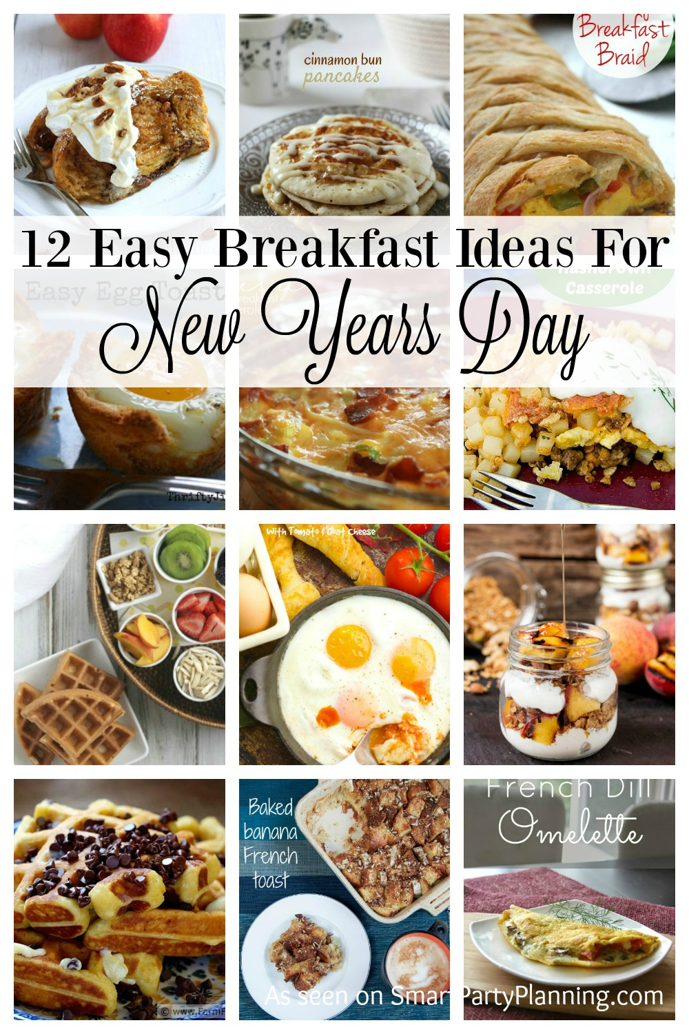 12 Easy Step By Step Natural Eye Make Up Tutorials For: 12 Easy Breakfast Recipes For New Years Day