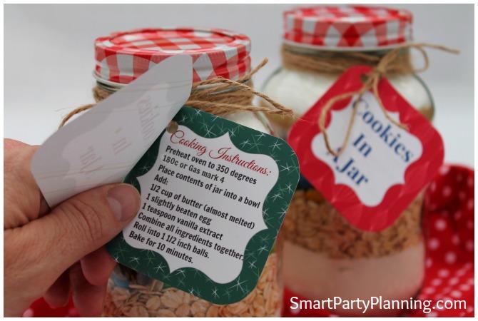 Cookies in a jar printable