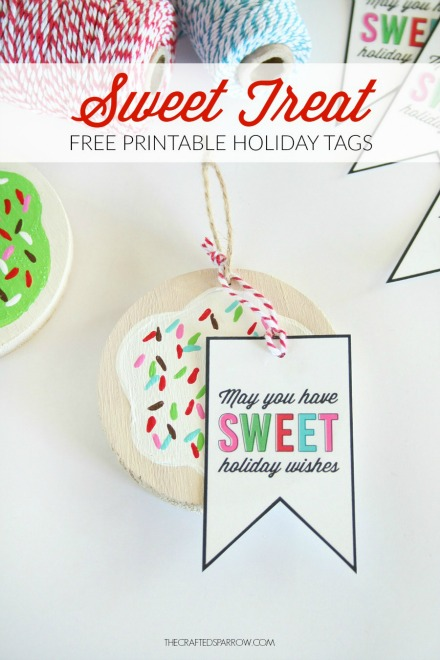 Sweet treats gift tag