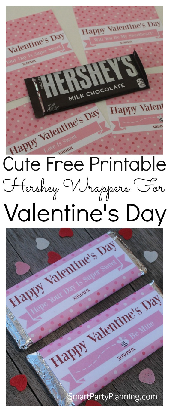 Hershey bar wrappers for valentine 39 s day for Valentine candy bar wrapper templates