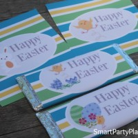 Printable Hershey bar wrappers make the perfect Easter gifts for kids to give to their friends at school. Easy to use and great on the budget.